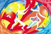 art numerique autres jazz danseurs rythme swing : SWING