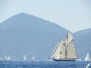 photo marine vieux greement regates royales cannes mer mediterranee : VIEUX GRÉEMENT