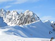 photo paysages monts enneiges hiver altitude alpesmaritimes : MONTS ENNEIGÉS