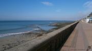 photo paysages horizon bleu promenade du platgousset granville : HORIZON BLEU