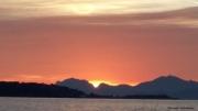 photo paysages coucher de soleil iles de lerins esterel mediterranee : COUCHER DE SOLEIL