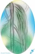 mixte paysages asie plantes lumiere couleurs : MATIN D'ASIE