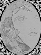 mixte personnages fille lune argent mixte : FILLE DE LA LUNE ARGENT