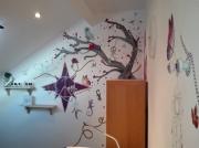 deco design autres animaux arbres paix fleurs : La paix des rêves