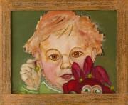 tableau personnages enfant polichinelle jouet : Les Polichinelles