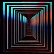 art numerique abstrait creation couleur concept style : ESCALATITUDE.2