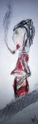 mixte personnages femme caractere frederic bouillet : Escalator espagnol