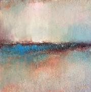 tableau abstrait l aurore art contemporain technique mixte abstrait : L'Aurore