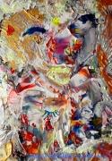 tableau abstrait myster love desform myster love painting painting desform desform peintre : MYSTER LOVE