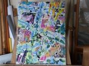 tableau abstrait otre painting desfor otre peinture desfor autre otre desform desform artiste otre : OTRE