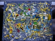 tableau abstrait meyou peinture desform artiste : MEYOU