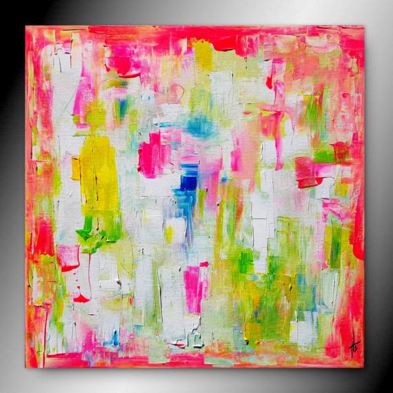 TABLEAU PEINTURE tableau abstrait contemporain peinture Abstrait  - LIBRE