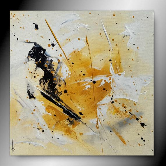 TABLEAU PEINTURE tableau abstrait peinture fait main Abstrait  - ONYX