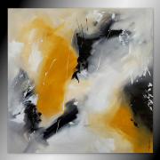 tableau abstrait tableau abstrait peinture contemporain : OXIDE
