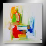 tableau abstrait tableau abstrait contemporain fait main : TEMPOS/VENDU