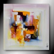 tableau abstrait tableau abstrait contemporain peinture : Olé/ Vendu