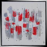 tableau abstrait tableau abstrait peinture contemporain : TENDANCE