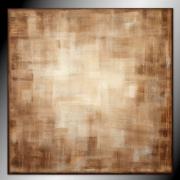 tableau abstrait tableau marron minimaliste industriel : EBEN