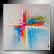 tableau abstrait tableau abstrait peinture contemporain : LUMI