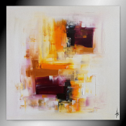 tableau abstrait tableau abstrait contemporain peinture : LILA/vendu