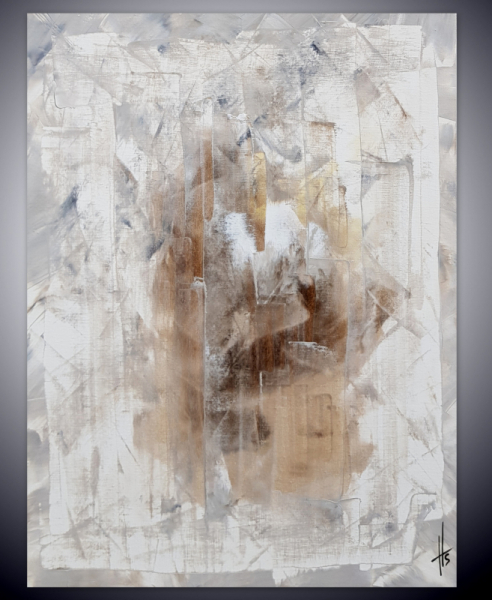 PAINTING tableau abstrait peinture vertical Abstrait Aquarelle  - MADNESS