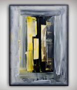 tableau abstrait tableau abstrait peinture fait main : SECRET