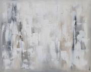 tableau abstrait tableau abstrait blanc contemporain : ASTRAL