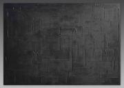 tableau monochrome noir tableau peinture : NOIR SAUVAGE/VENDU