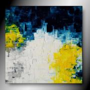 tableau abstrait tableau abstrait peinture fait main : KALEI