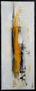 tableau abstrait tableau abstrait vertical peinture : AUDACE