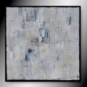 tableau abstrait tableau abstrait peinture minimaliste : GLACIAL