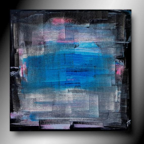 TABLEAU PEINTURE tableau abstrait fait main peinture Abstrait Acrylique  - ACTION