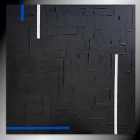 tableau monochrome noir / VENDU