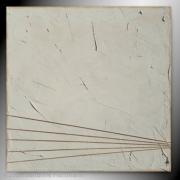 tableau tableau beige clair blanc corde : BRUT