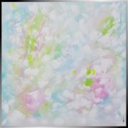 tableau abstrait tableau abstrait peinture fait main : Douce Rêverie