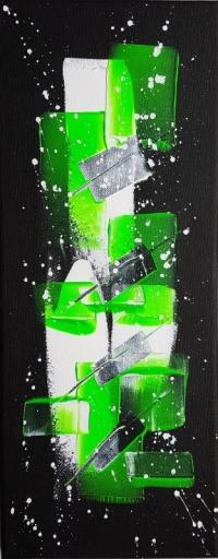 Tableau peinture abstrait/VENDU