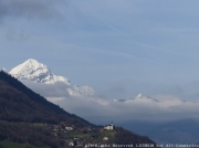 photo paysages mont blanc mont char mont blanc et mont ,c mont charvin et mont mont charvin regarde : MONT CHARVIN ET MONT BLANC