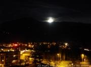 photo paysages city moon rise lever de lune en vil lichelm photo lichelm artiste : LEVER DE LUNE EN VILLE