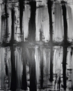 tableau abstrait reflet new york : REFLET