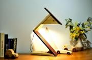 deco design autres sculpture lumineuse lampe led lampe design lampe bois : narito