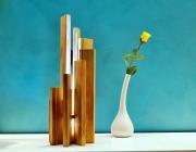 deco design autres lampe en pin lampe design lampe sculpture lampe led : ARAVA