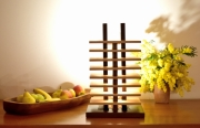 sculpture abstrait lampe design lampe led lampe bois lampe luxe : gesaro