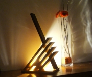 deco design abstrait sculpture lumineuse lampe design lampe haut de gamme lampe led lampe luxe : kirino