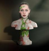 tableau personnages buste portrait statue sculpture : Marble Buste