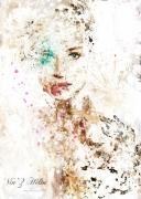 art numerique personnages portrait dessin numerique art digital toile : jen splatter