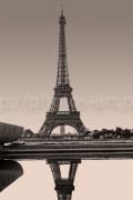 art numerique architecture tour eiffel : Relection of the Eiffel Tower