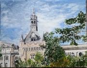 tableau villes toulouse capitole haute garonne donjon : Toulouse