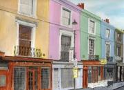 tableau villes londres notting hill portobello angleterre : Londres - Notting Hill