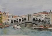tableau architecture venise rialto italie : VENISE