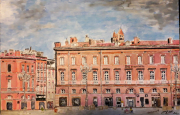 tableau architecture toulouse capitole : Toulouse, le Capitole